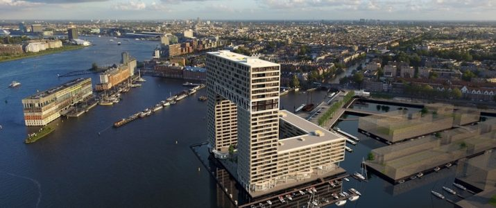 "Amsterdam rondom 't IJ ""Moderne architectuur"""