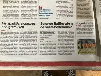 Science Battle in de Tubantia