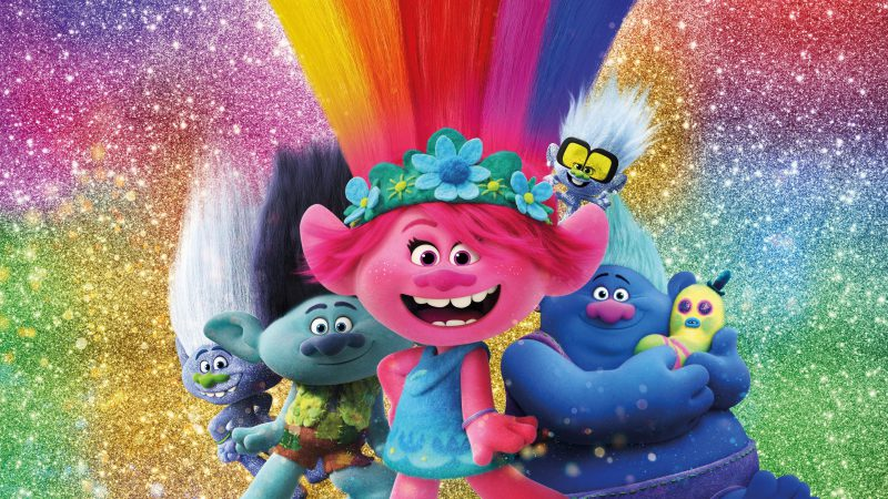 Trolls World party